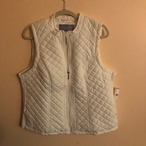 Other - Laura Scott Quilted Puffer Vest